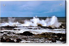 Acrylic Print featuring the photograph Ocean Spray 2 by Joseph Hollingsworth