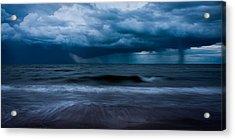 Ocean Storm Panorama Acrylic Print by Matt Dobson