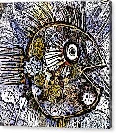 Ocean Sunfish Acrylic Print by Selke Boris