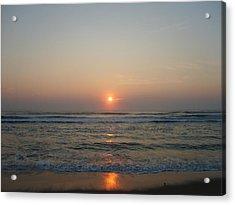 Ocean Sunrise Acrylic Print by Deborah May