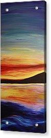 Ocean Sunset Acrylic Print by Bex Schoof