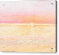 Ocean Symphony Acrylic Print by J Reifsnyder