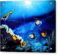 Ocean Treasure  Acrylic Print by Dan Townsend