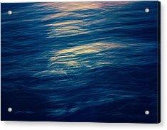 Acrylic Print featuring the photograph Ocean Twilight by Ari Salmela