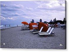 Ocean View 6 - Miami Beach - Florida Acrylic Print by Madeline Ellis