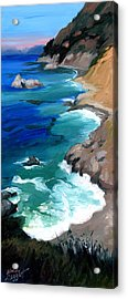 Ocean View At Big Sur Acrylic Print