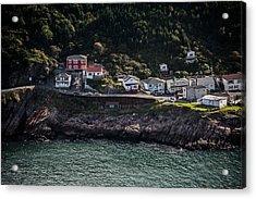 Ocean Village Acrylic Print