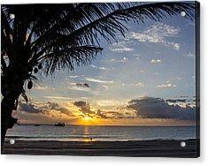 Oceanfront Park Sunrise 1 Acrylic Print