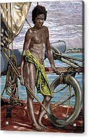 Oceania Micronesia Koror Native (palau Acrylic Print
