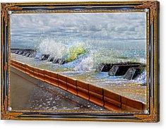 Oceanic Notes Acrylic Print by Betsy Knapp