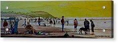 Oceans Beach San Francisco Acrylic Print