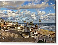 Oceanside Amphitheater Acrylic Print by Ann Patterson