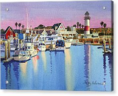 Oceanside Harbor At Dusk Acrylic Print
