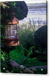 Acrylic Print featuring the photograph Oceanside Lantern by Patrice Zinck