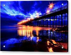 Oceanside Pier 4 Acrylic Print