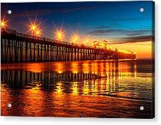 Oceanside Pier 2 Acrylic Print