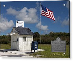 Ochopee Post Office Acrylic Print