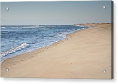 Ocracoke Beach Acrylic Print by Steven Ainsworth