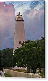 Ocracoke Lighthouse Acrylic Print