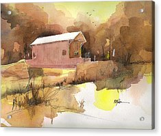 October 16th  Acrylic Print by Robert Yonke