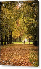 October Acrylic Print by Alfio Finocchiaro
