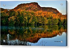 October Bluffs Acrylic Print