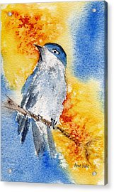 Acrylic Print featuring the painting October First by Anne Duke