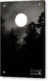 October Full Moon IIi Acrylic Print by Phil Dionne