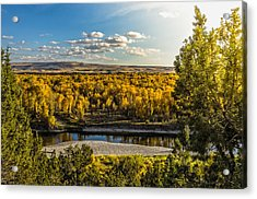 October In Heise Valley Acrylic Print