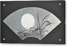 October Moonviewing Acrylic Print