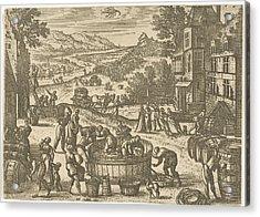 October, Pieter Van Der Borcht Acrylic Print by Pieter Van Der Borcht (i)