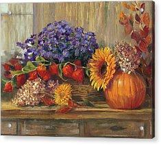 October Still Life Acrylic Print
