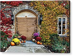 October Welcome Acrylic Print