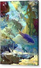 Octopus' Garden 1  Acrylic Print