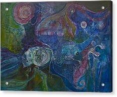 Octopus Garden Acrylic Print