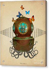 Octopus Acrylic Print by Mark Ashkenazi