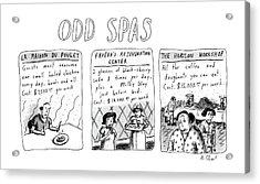 Odd Spas Acrylic Print