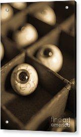 Oddities Fake Eyeballs Acrylic Print by Edward Fielding