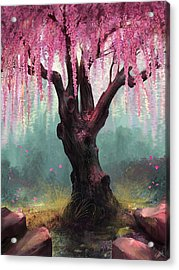 Ode To Spring Acrylic Print by Steve Goad