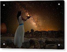 Ode To The Starry Sky Acrylic Print
