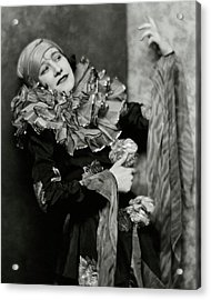 Odette Myrtil In Costume Acrylic Print
