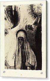 Odilon Redon French, 1840 - 1916, La Vieille Que Crains-tu Acrylic Print by Quint Lox