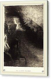 Odilon Redon French, 1840-1916, Pélerin Du Monde Acrylic Print by Litz Collection