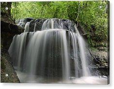 Odom Creek Waterfall Georgia Acrylic Print