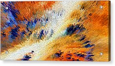 Odyssey - Abstract Art By Sharon Cummings Acrylic Print by Sharon Cummings