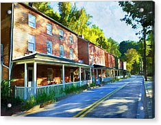 Acrylic Print featuring the photograph Oella Avenue by Dana Sohr