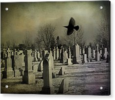 Of A Gothic Nature Acrylic Print by Gothicrow Images