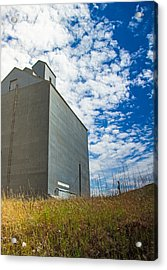 Of Clouds And Grain Acrylic Print