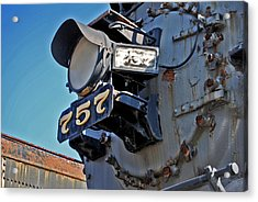 Of Rust And Power Acrylic Print by Skip Willits