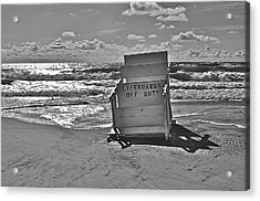 Off Duty Acrylic Print by Joe  Burns